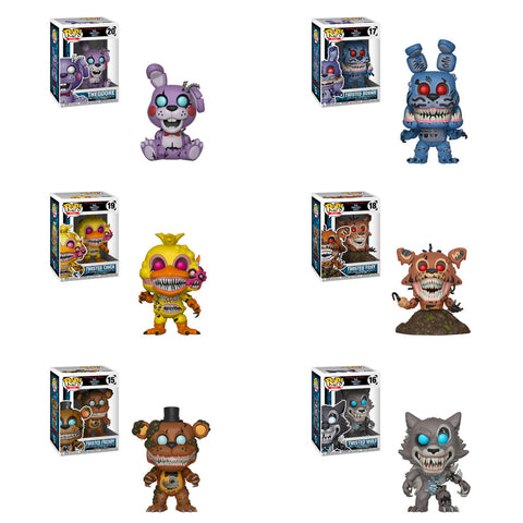 POP! Games - Five Night At Freddy's - Twisted Bundle