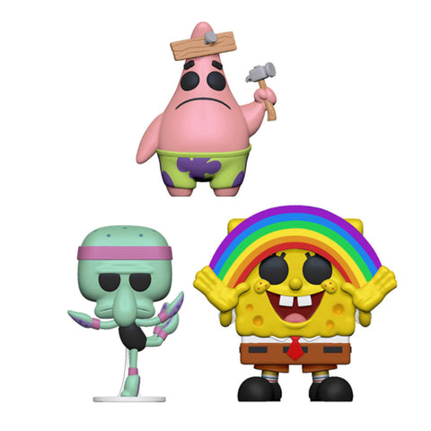 POP Animation Spongebob Squarepants Funko POP Bundle