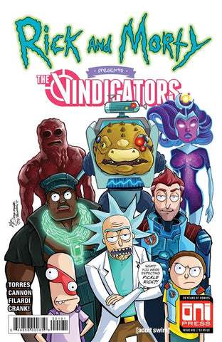 Rick & Morty Presents The Vindicators #1 Exclusive Cover