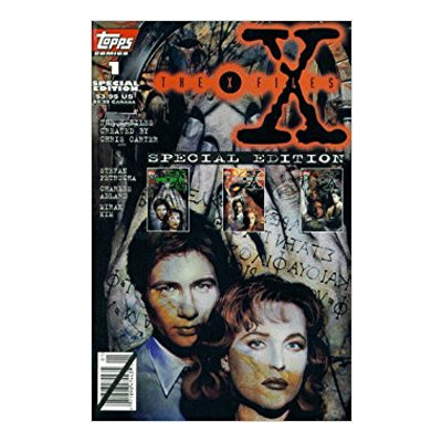 X-Files 1 (1995 Topps) - VF