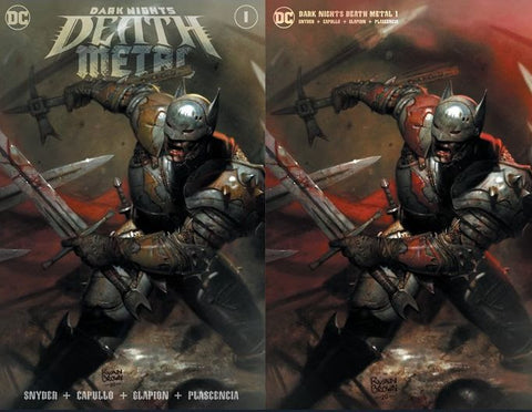 Dark Nights Death Metal #1 Ryan Brown Exclusive Set