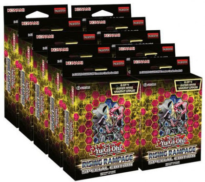 Yu-Gi-Oh Rising Rampage Special Edition (3 boosters & Rares)