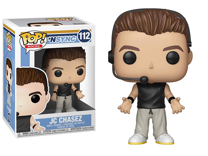 POP! Rocks Nsync JC Chasez Funko POP