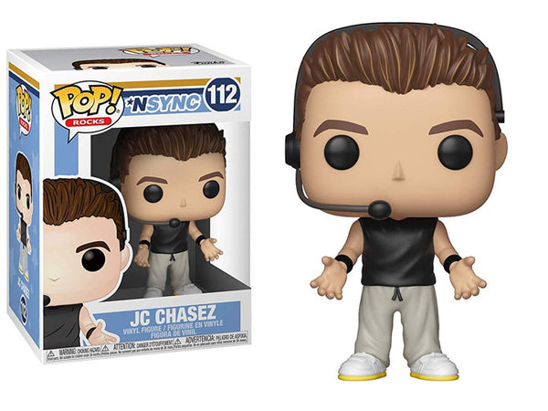 POP! Rocks Nsync JC Chasez Funko POP - State of Comics