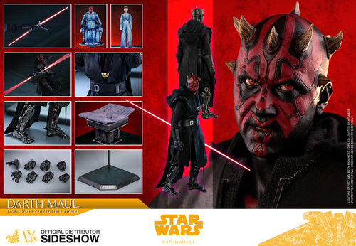 Hot Toys Star Wars Darth Maul Sixth Scale Figure