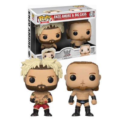 POP! WWE Enzo Amore & Big Cass Funko POPs - State of Comics