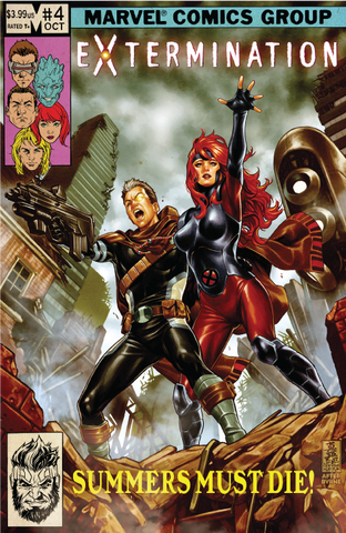 Extermination #4 Mark Brooks Trade Dress Exclusive