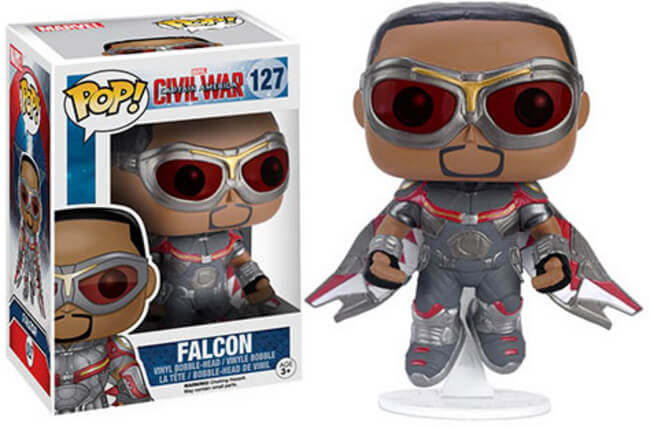 POP! Marvel Captain America Civil War Falcon Funko POP