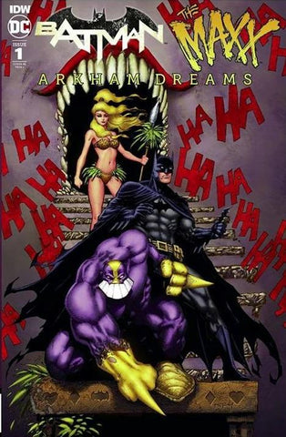 Batman The Maxx #1 (of 5) Jason Metcalf Exclusive