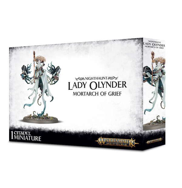 Warhammer Age of Sigmar Nighthaunt Lady Olynder Mortarch of Grief - State of Comics