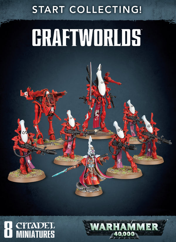 Warhammer 40k Start Collecting Craftworlds - State of Comics