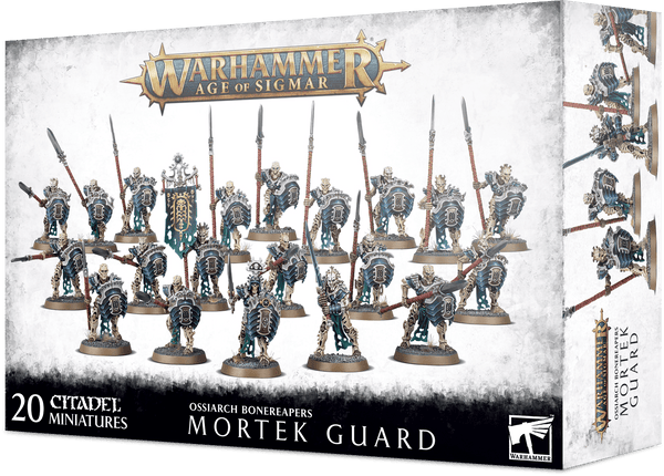 Warhammer Age of Sigmar Ossiarch Bonereapers Mortek Guard - State of Comics