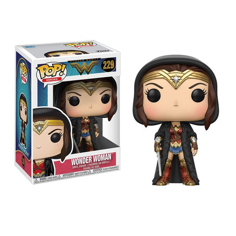 POP! Heroes Wonder Woman Cloak Funko POP
