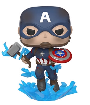 POP! Marvel Avengers Endgame Captain America Holding Mjolnir Funko POP!