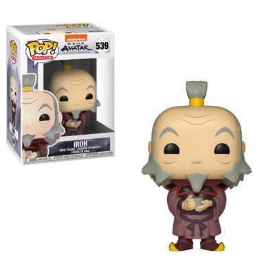 POP Animation Avatar The Last Airbender Iroh w/ Tea Funko POP