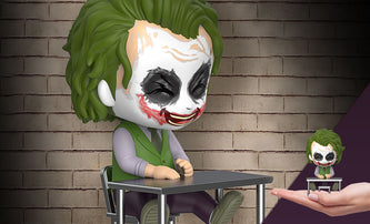 Cosbaby The Dark Knight Trilogy The Joker Laughing Version