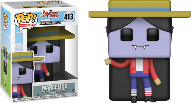POP Animation - Adventure Time & Minecraft - Marceline