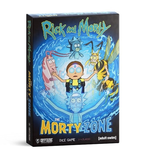 Rick & Morty The Morty Zone Dice Game - State of Comics