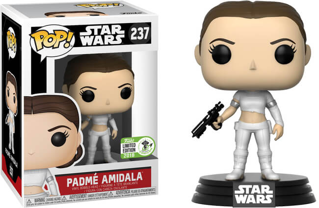 POP! Star Wars Padme Amidala Funko POP (Damaged 9/10)