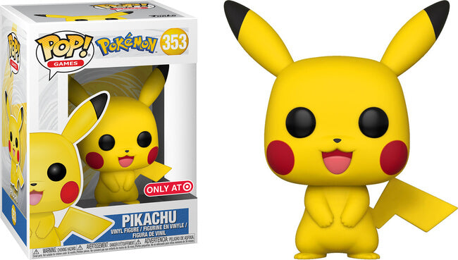 Copy of POP Games - Pokemon - Pikachu