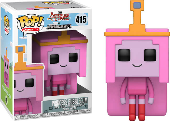 POP Animation - Adventure Time & Minecraft - Princess Bubblegum