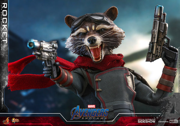 Hot Toys Rocket Racoon Sixth Scale Figure - State of Comics