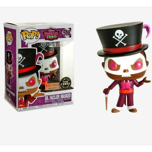 POP! Disney Dr Faciler Masked GITD Chase Exclusive Funko Pop - State of Comics