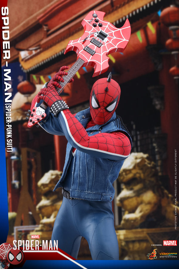 Hot Toys Spider-Man Spider-Punk Suit Sixth Scale Figure - State of Comics