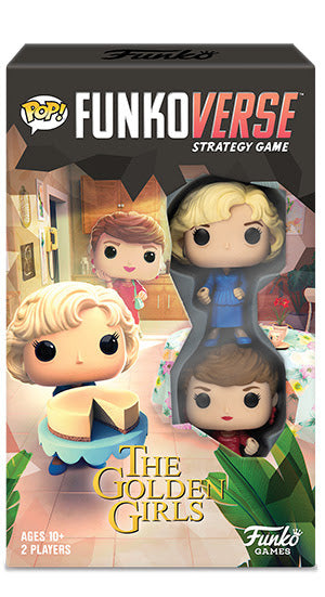 Funkoverse The Golden Girls 100 Strategy Game - State of Comics