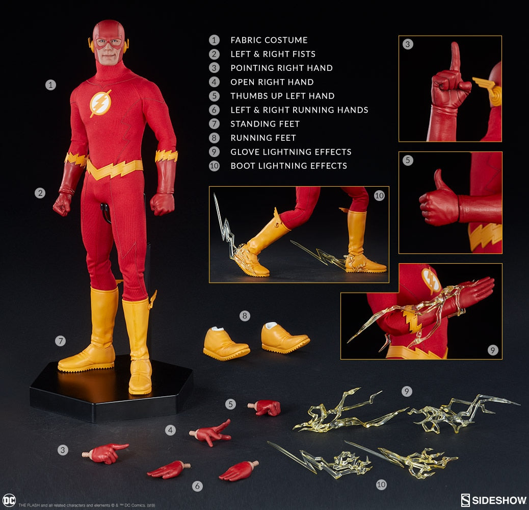 The Flash Sixth Scale Figure