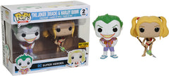 POP Heroes - DC Heroes - The Joker (Beach) & Harley Quinn