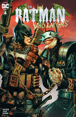 Batman Who Laughs #4 Suayan Trade Dress Exclusive