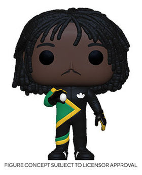 POP Movies Cool Runnings Sanka Coffie Vinyl Figure