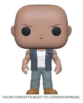 POP Movies Fast & Furious 9 Dominic Vinyl Figure