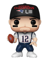POP Sports NFL Tom Brady Super Bowl LIII Champion Funko POP