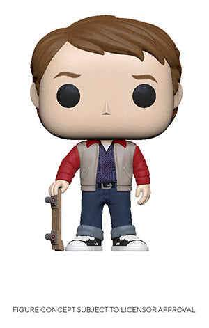 POP! Movies Back to the Future Marty 1955 Funko POP