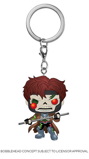 POP! Keychain Marvel Zombies Gambit