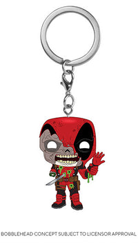 POP! Keychain Marvel Zombies Deadpool