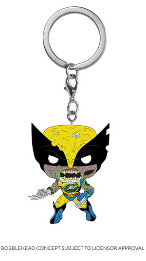 POP! Keychain Marvel Zombies Wolverine