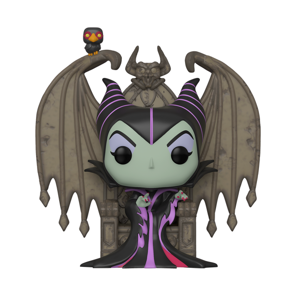 POP! Deluxe Villains Maleficent on Throne - State of Comics