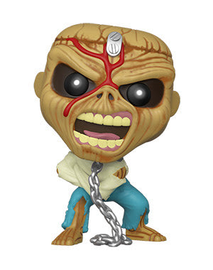 POP Rocks Iron Maiden Piece of Mind Skeleton Eddie Funko POP - State of Comics