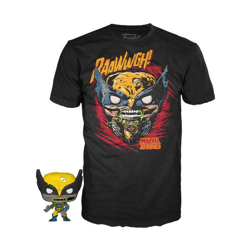 Pocket POP & Tee Marvel Zombie Wolverine - State of Comics