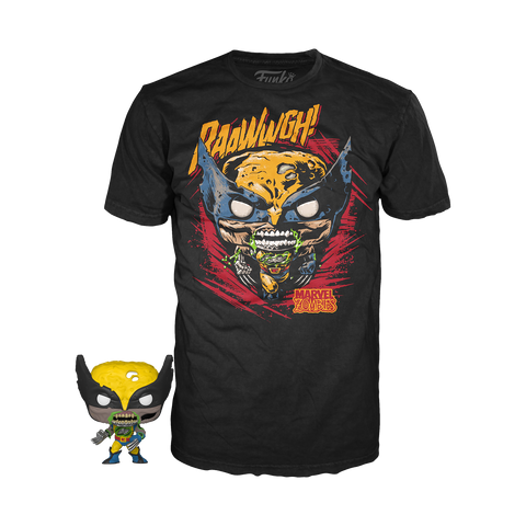 Pocket POP & Tee Marvel Zombie Wolverine