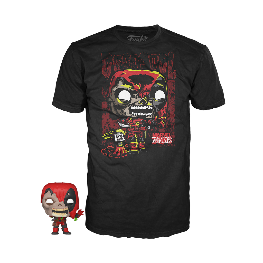 Pocket POP & Tee Marvel Zombie Deadpool