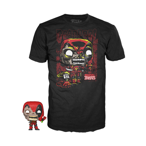 Pocket POP & Tee Marvel Zombie Deadpool - State of Comics