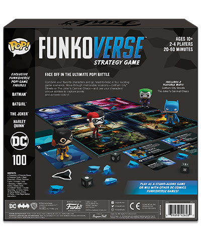 Funkoverse DC 100 Strategy Game