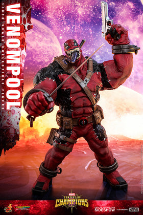 Venompool 1/6th Scale Figure by Hot Toys