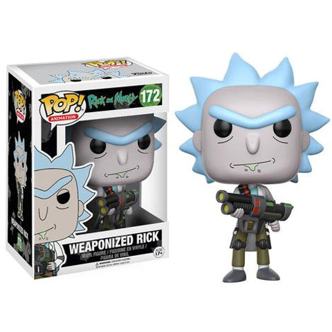 POP! Animation - Rick & Morty - Weaponized Rick