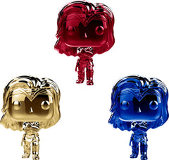 POP DC Heroes - Wonder Woman - Chrome Wonder Woman