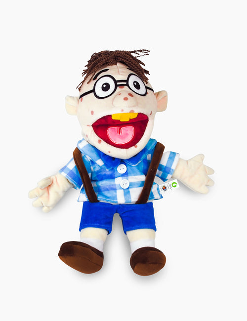 ✅Brand New Authentic Jeffy Puppet Super Mario Logan SML Merch